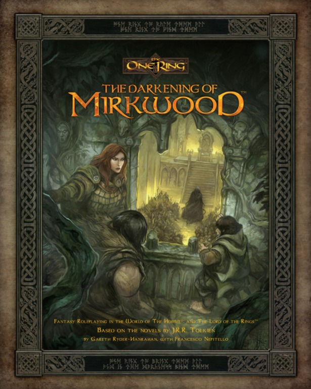 The One Ring RPG: The Darkening of Mirkwood by Cubicle 7 Entertainment Ltd image
