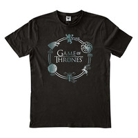 Game of Thrones: Houses - Men's T-Shirt - Black (XL)
