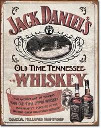 Jack Daniel's Retro Tin Sign
