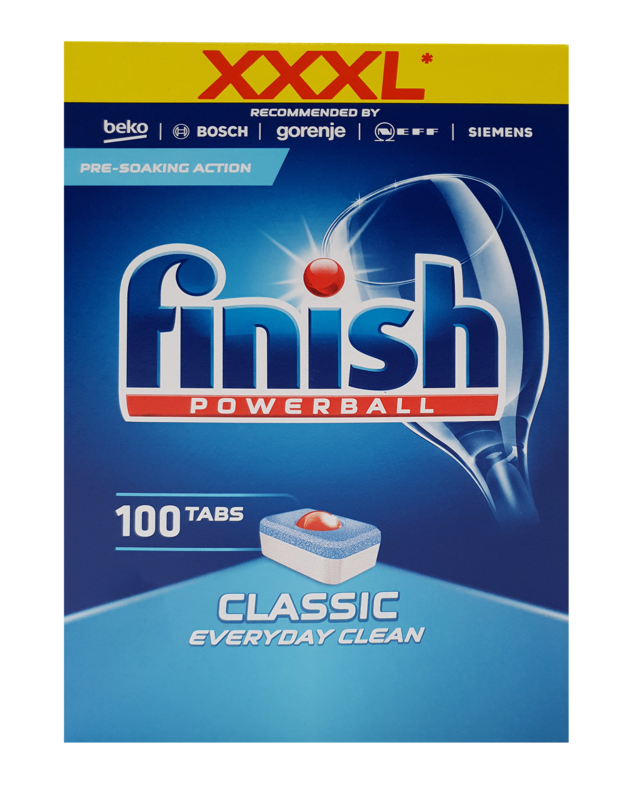 Finish: Powerball - Classic (100 Tablets)