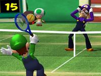 Mario Power Tennis for GameCube image