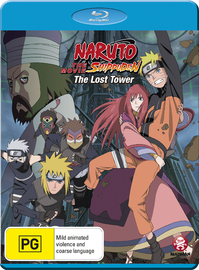 Naruto Shippuden The Movie: The Lost Tower on Blu-ray