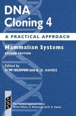 DNA Cloning 4: A Practical Approach image