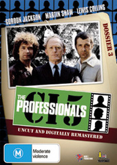 The Professionals - Dossier 3 (4 DVD) on DVD