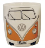 Volkswagen: VW Mug - White/Orange