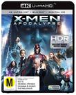 X-Men Apocalypse on Blu-ray, UHD Blu-ray