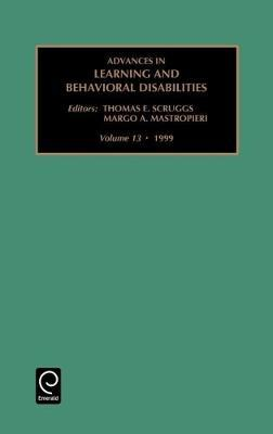 Advances in Learning and Behavioural Disabilities image
