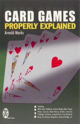 Card Games Properly Explained by Arnold Marks image