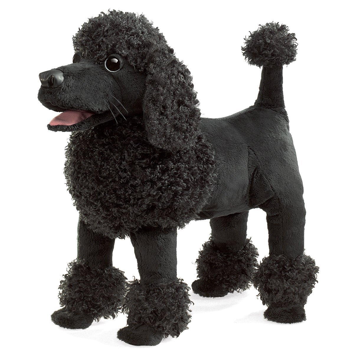 Folkmanis Hand Puppet - Poodle image