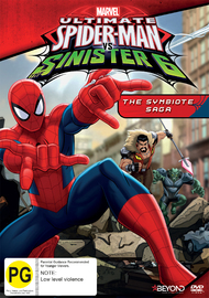 Ultimate Spider-Man vs Sinister 6: The Symbiote Saga on DVD