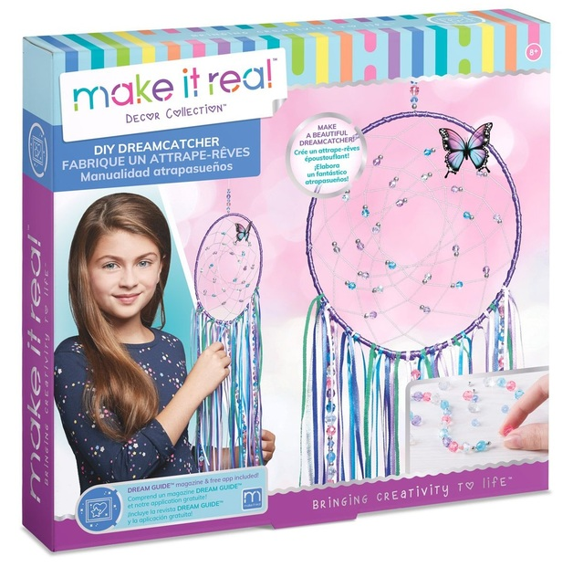 Make it real do it yourself dreamcatcher kit toy at mighty ape nz make it real do it yourself dreamcatcher kit solutioingenieria Images