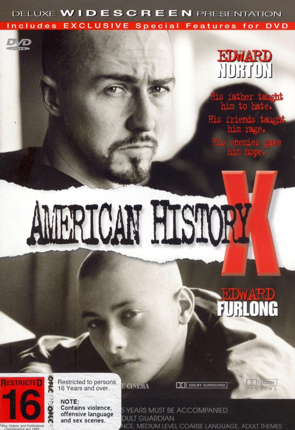 American History X on DVD image