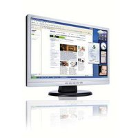 "Philips 19"" 190CW7CS Wide Silver LCD Monitor image"
