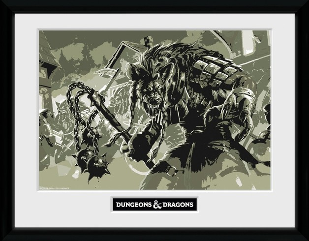 Dungeons and Dragons: Gnoll - Collector Print (41x30.5cm)