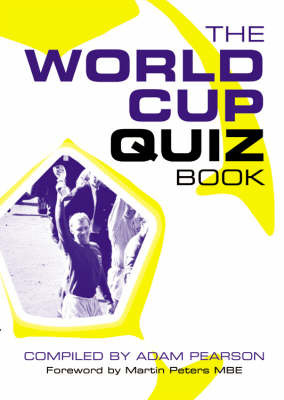 The World Cup Quiz Book by Adam Pearson image