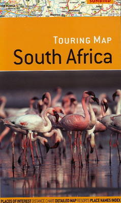 Touring Map of South Africa by John Hall image