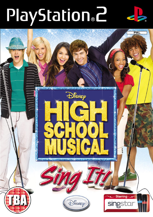 High School Musical: Sing It! with Microphones for PlayStation 2