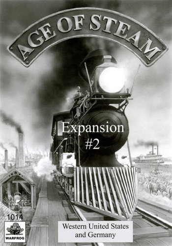 Age of Steam: Germany & West USA Expansion #2