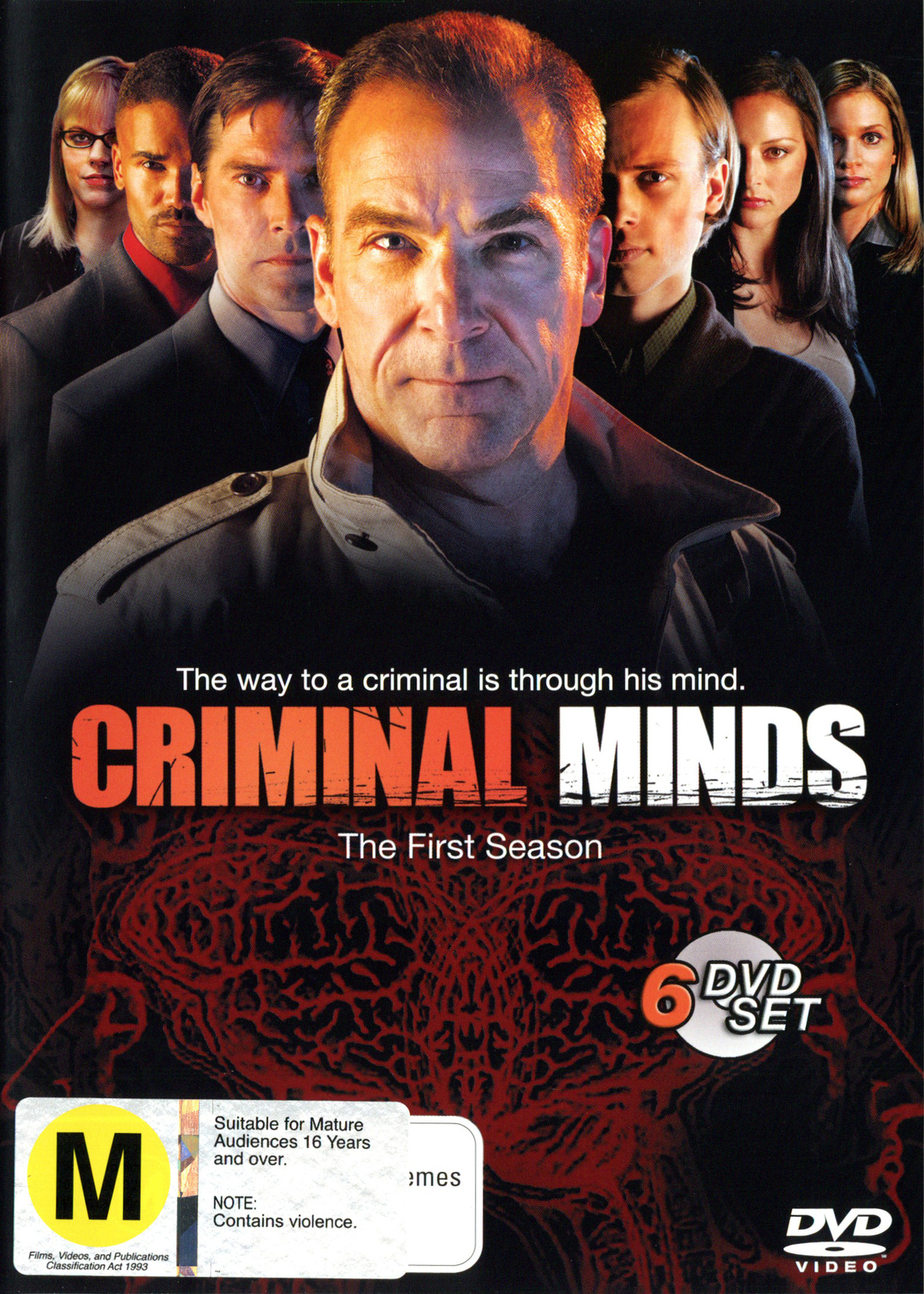 Criminal Minds - Season 1 (6 Disc Box Set) on DVD image