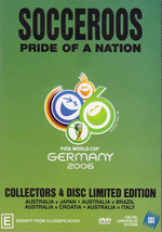 Socceroos - Pride Of A Nation: FIFA World Cup - Germany 2006: Collectors Limited Edition (4 Disc Set) on DVD