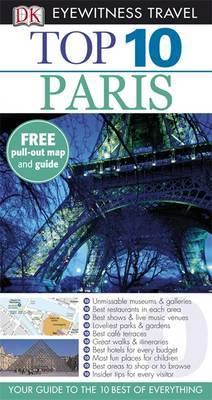 DK Eyewitness Top 10 Travel Guide: Paris by Donna Dailey image