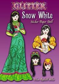 Glitter Snow White Sticker Paper Doll by Eileen Miller