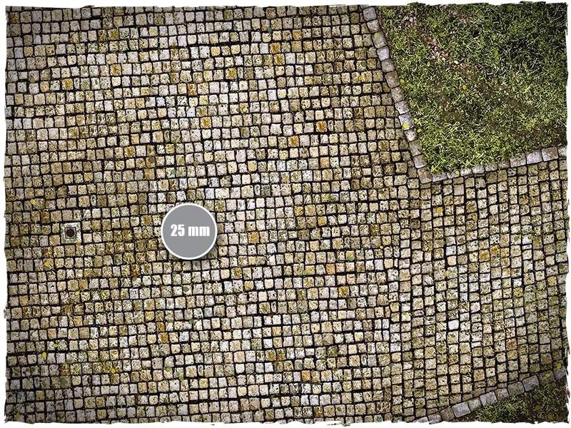 DeepCut Studio Cobblestone Streets PVC Mat (6x4) image