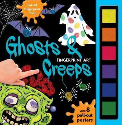 Fingerprint Art Ghosts & Creeps