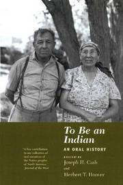 To be an Indian by Joseph H. Cash image
