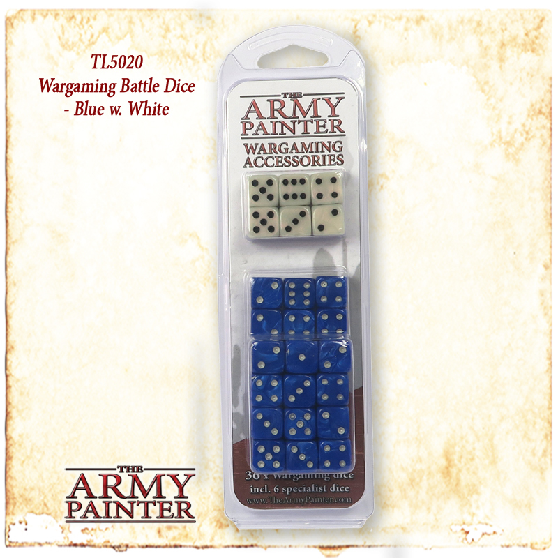 Army Painter Wargamer Dice: Blue image