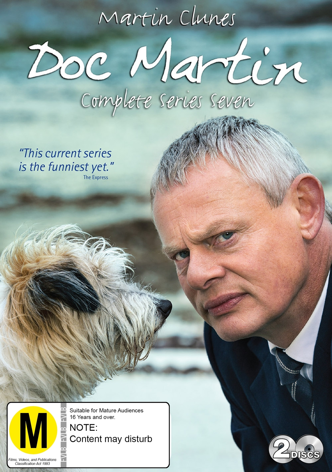 Doc Martin - The Complete Series 7 on DVD image