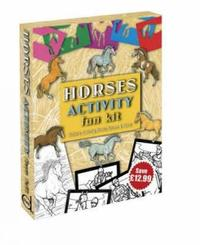 Horses Activity Fun Kit by Dover image