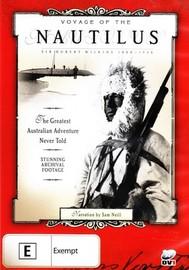 Voyage of the Nautilus on DVD