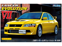 Fujimi: 1/24 Mitsubishi Lancer (Evolution VII GSR) - Model Kit