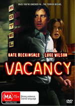 Vacancy on DVD