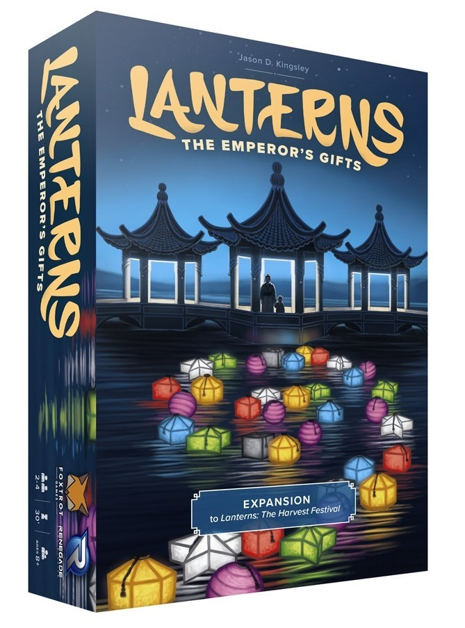 Lanterns: The Emperors Gifts - Expansion image