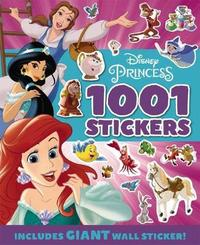Disney: Princess 1001 Sticker Book image
