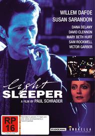 Light Sleeper on DVD image