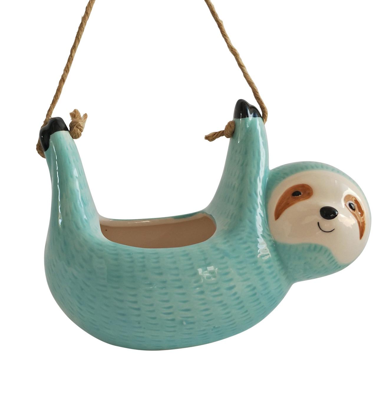 Sloth Hanging Planter image