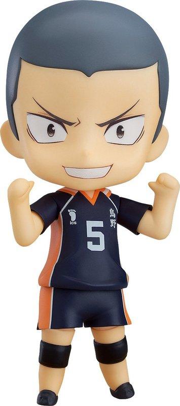 Haikyu!! Ryunosuke Tanaka (Deluxe) - Nendoroid Figure