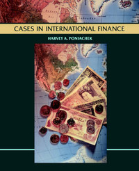 Cases in International Finance by Harvey A. Poniachek image