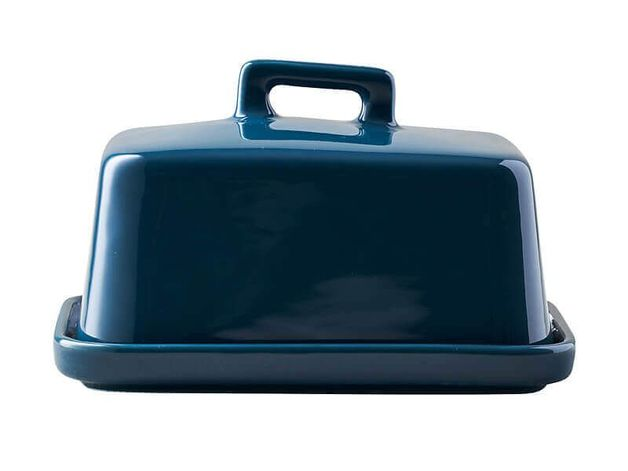 Maxwell & Williams: Epicurious Butter Dish - Teal