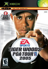 Tiger Woods 2005 for Xbox