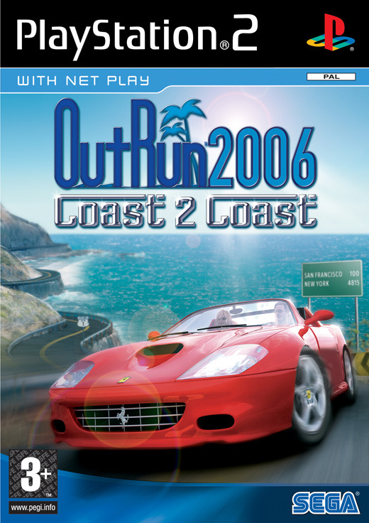 OutRun 2006: Coast 2 Coast for PS2