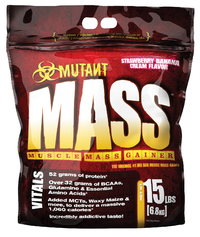 Mutant Mass - Strawberry & Banana Creme (6.8kg)