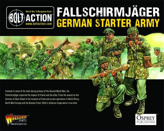 German Fallschirmjager Army Set