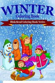 Winter Coloring Book by The Blokehead