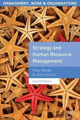 Strategy and Human Resource Management by Peter Boxall image
