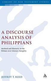 A Discourse Analysis of Philippians by Jeffrey T. Reed image