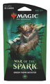 Magic The Gathering: War of the Spark Theme Booster- Green